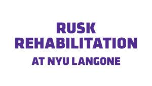 Rusk Rehabilitation at NYU Langone logo