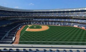 View from our Terrace Level Seats - overlooking right field.